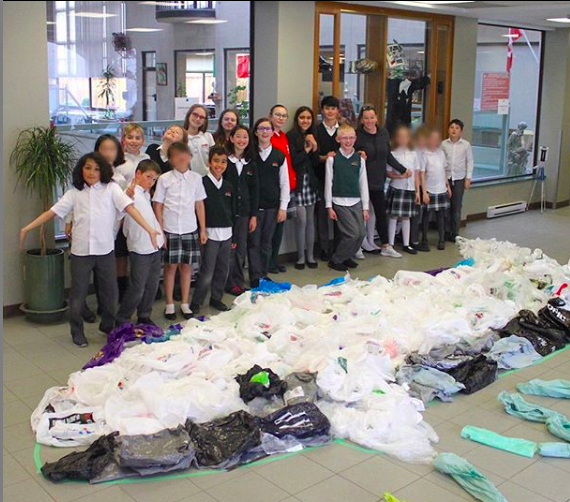 Westside Montessori School Plastic Bag Grab